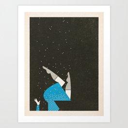 Snowfall Art Print
