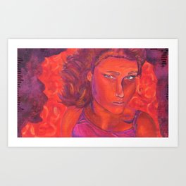 Warm Contemplation Art Print