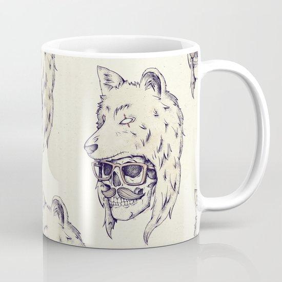 WOLF HAT Mug