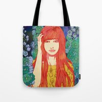 silence of the lambs Tote Bags featuring Silence by Natsuki Otani