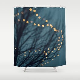 Sparkle and Dance No 3 Shower Curtain