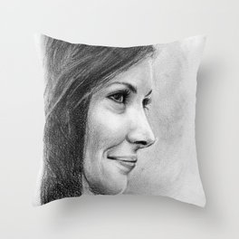 Evangeline Lilly Throw Pillow
