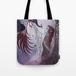 Dwell on the Past Tote Bag