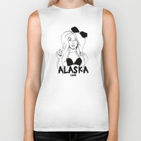 alaska Biker Tanks featuring Alaska by Payden Evans