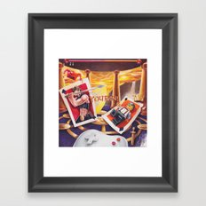 You Win Framed Art Print