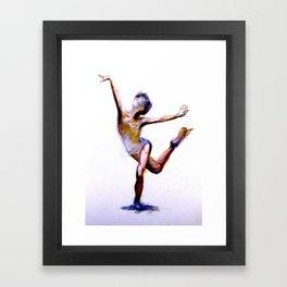 F l i c k Framed Art Print