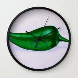 Jalapeno Wall Clock
