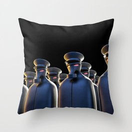 Oppression Throw Pillow