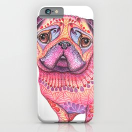 Pugberry iPhone Case