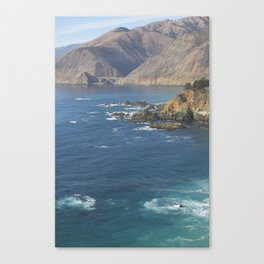 Bixby Bridge in Big Sur Canvas Print