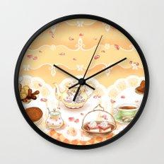 Dutch Sweet Tea Wall Clock