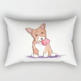 Corgi Love Rectangular Pillow