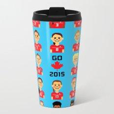Go Canada 2015! Metal Travel Mug
