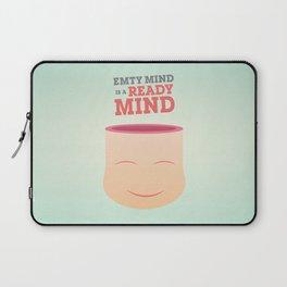 Empty Mind Laptop Sleeve