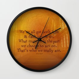 HARRY POTTER // SIRIUS BLACK Wall Clock