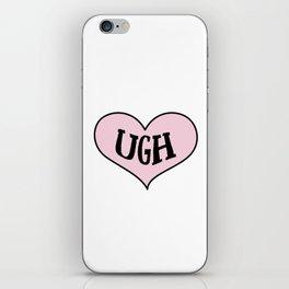 Ugh Heart iPhone Skin