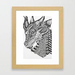 Zerachiel Framed Art Print
