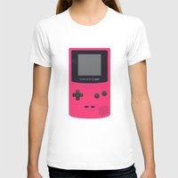 gameboy T-shirts featuring GAMEBOY Color - Pink Version by Cedric S Touati