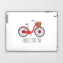 I Wheely Love You Laptop & iPad Skin