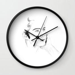 Lichtenberg Figure Wall Clock
