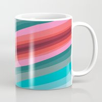 cracked Mugs featuring Cracked  by K I R A   S E I L E R