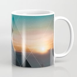 Mountain Landscape Geometric Coffee Mug