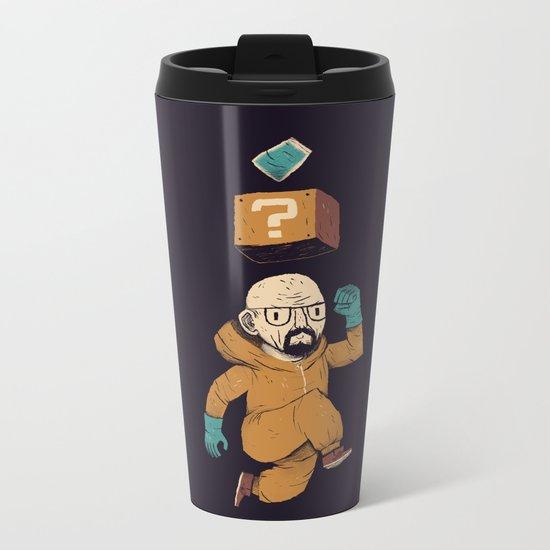 heisenberg power up Metal Travel Mug