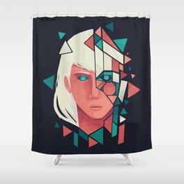 Shapeless Shower Curtain