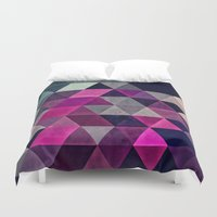 spires Duvet Covers featuring hylyoxrype by Spires