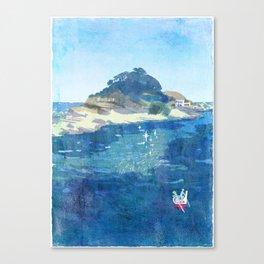 The Niemon Island Canvas Print