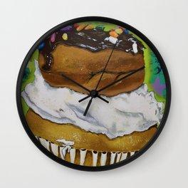 DonutCupcake Wall Clock