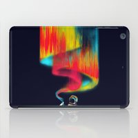 astronomy iPad Cases featuring Space vandal by Picomodi