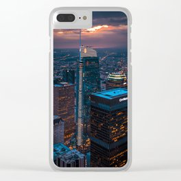 Sky Space Clear iPhone Case