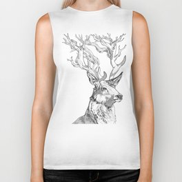 From Bucks to Branches Biker Tank