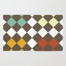 Checkers Fall Rug