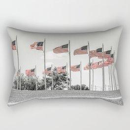 America the Beautiful Rectangular Pillow
