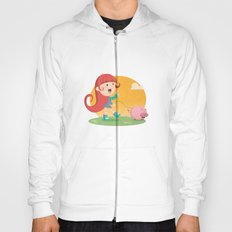 Lilly and Piggy Hoody