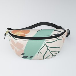 Tropical Surf Fanny Pack