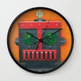 Robert the Robot Wall Clock