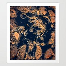 Philosopher & Fool - The Golden Fall Art Print