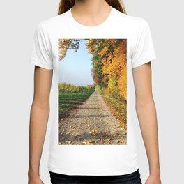 Autumn Chemin Nature T-shirt