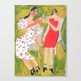Chin Chin Canvas Print