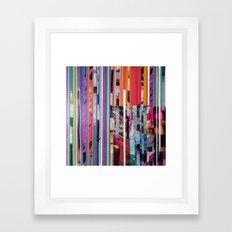 COLLAGE9 Framed Art Print