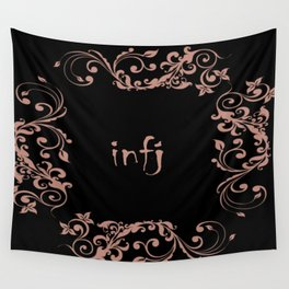 infj mbti personality Wall Tapestry