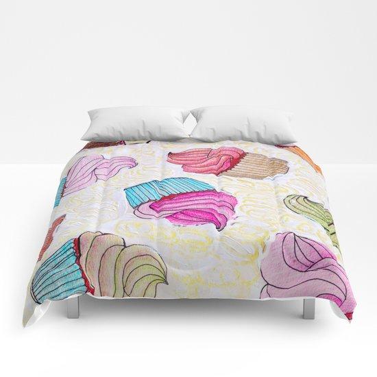 Cupcake dream Comforters