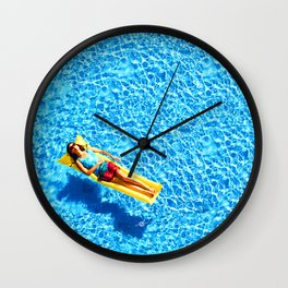 What The Summer Sun Sees 1 Wall Clock