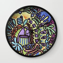 The Totem Wall Clock
