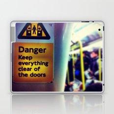Danger Signs Laptop & iPad Skin