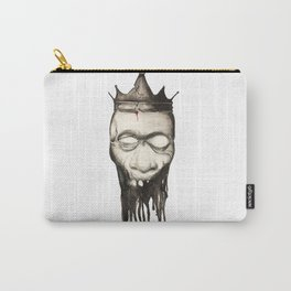 Rotten heads of kings with crowns. Carry-All Pouch