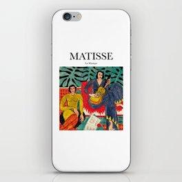 Matisse - La Musique iPhone Skin